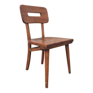 Mid-Century Walnut Chair by Boling Chair Company