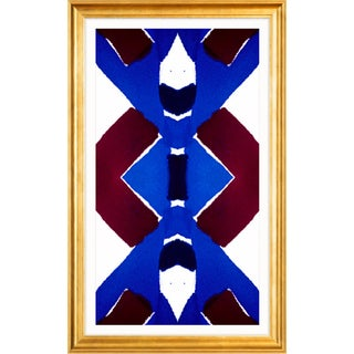 Zoe Bios Creative Tapete Belem Framed Abstract Print
