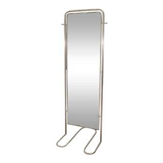 Louis Sognot Modernist Art Deco Full-Length Mirror