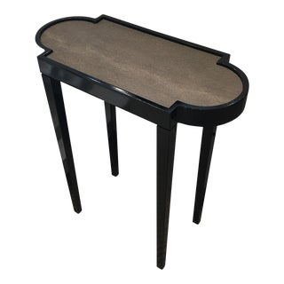 Oomph Black Tiny Table