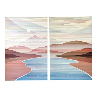 'Damascus' Prints by Marcus Uzilevsky - Pair