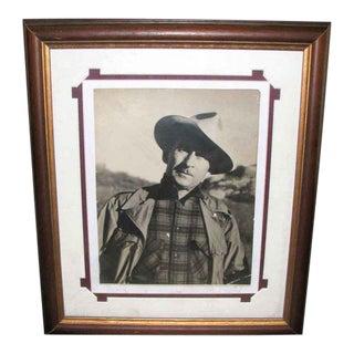 Vintage Waiten Uedy Original Portrait Photo