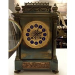 Image of 19th Century French Gilt Brass 8 Day Mantel Clock