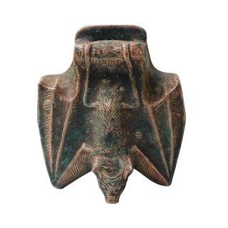 Handmade Bat Shaped Wall Mounted Vase