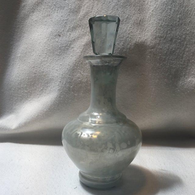 Image of Mercury Glass Decanters - Set of 3