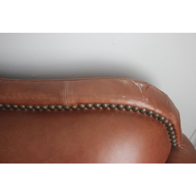 Image of Lillian August Leather Sofa