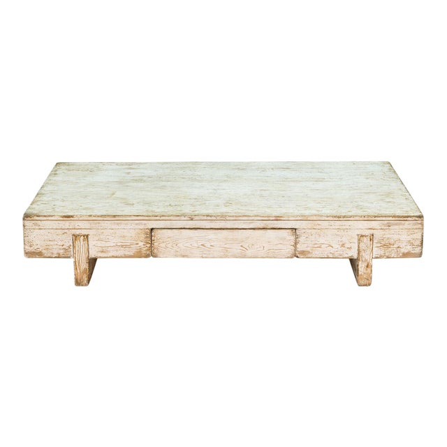 Glass Coffee Tables Perth: Sarreid Ltd Perth White Coffee Table