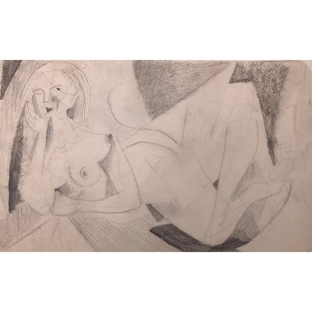 Abstract Figurative Nude Drawing Richard Ericson - Image 2 of 5