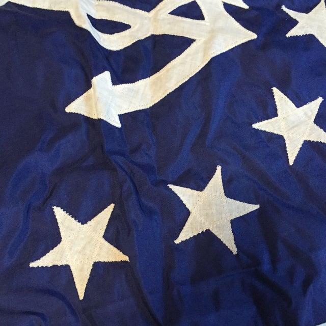 Image of Vintage USA Maritime Yacht Ensign Boat Flag