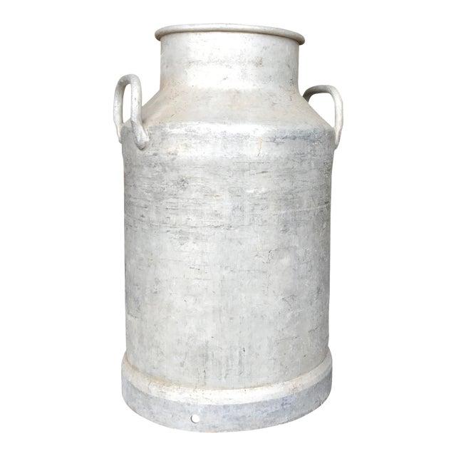 Vintage French Metal Milk Jug - Image 1 of 6