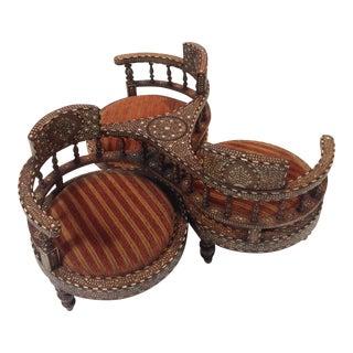 Tete-A-Tete Morrocan Chairs