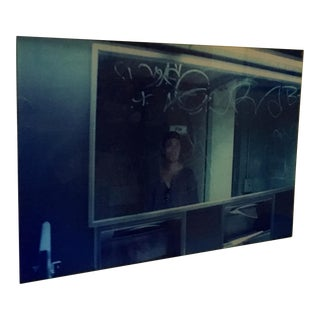 Photo of Man & Graffiti on Plexi