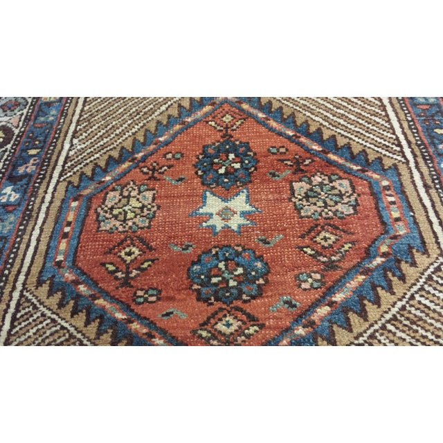 Vintage North West Persian Hall Runner - Image 4 of 5