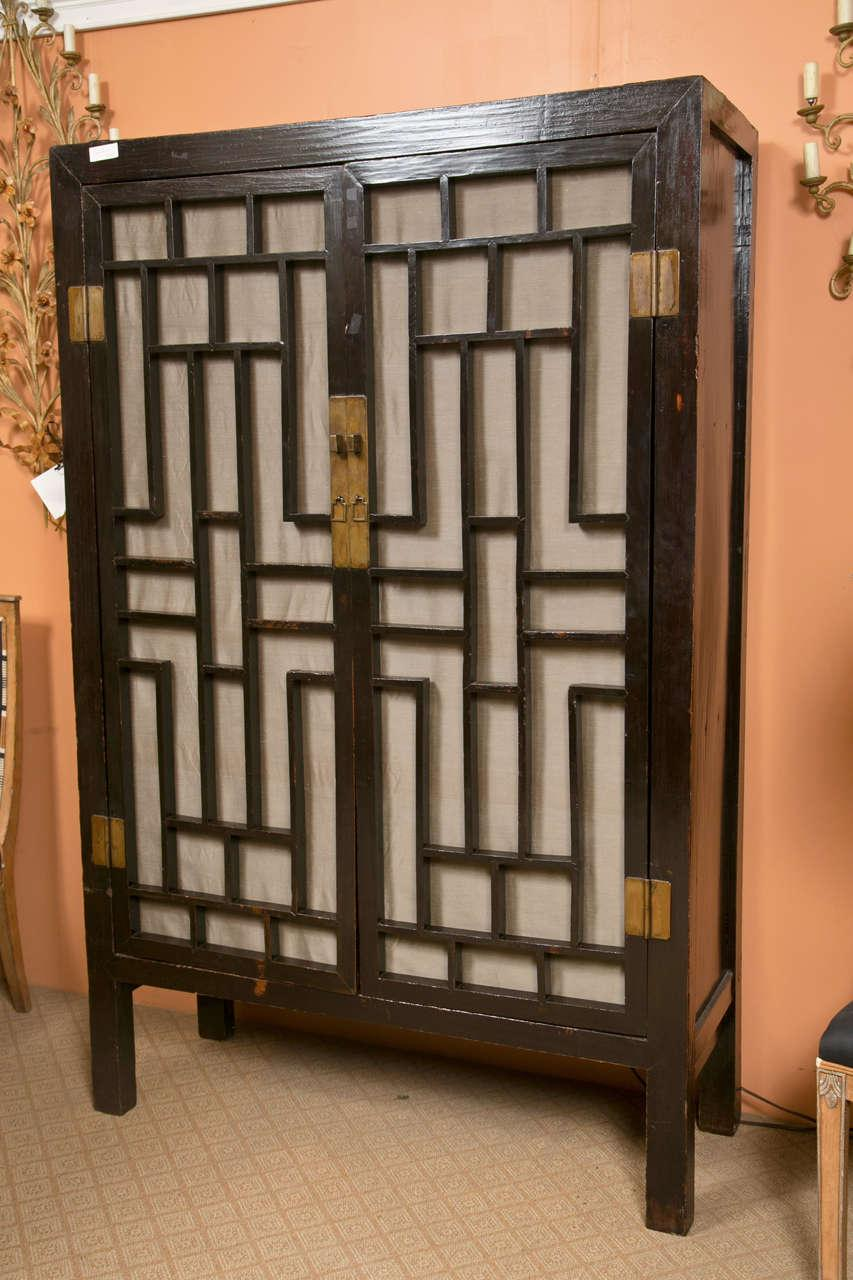 Good 19th Century Oriental Cabinet   Image 2 Of 9