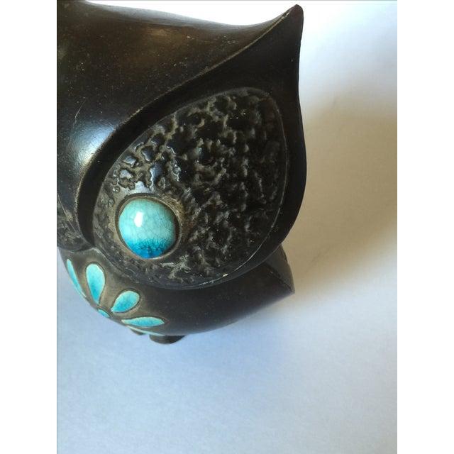 1960's Midcentury Ceramic Owl - Image 4 of 11