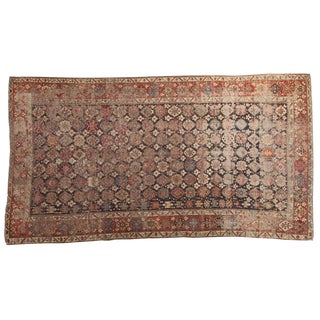 "Antique Caucasian Distressed Carpet - 6'3"" x 11'5"""