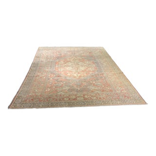 "Bellwether Rugs Distressed Antique Turkish Oushak Rug - 8'2"" X 11'7"""