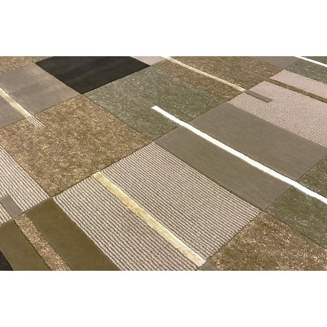 """Contemporary Hand Woven Rug - 5'8"""" x 8' - Image 2 of 3"""