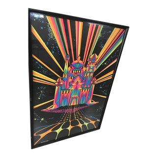 House of Stone Hippie Psychedelic Poster