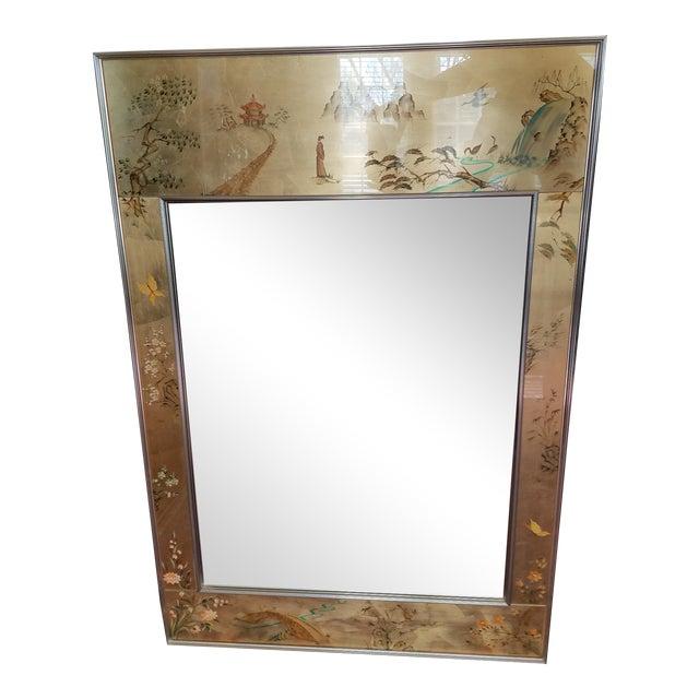 LaBarge Mirror Eglomise Mirror - Image 1 of 8