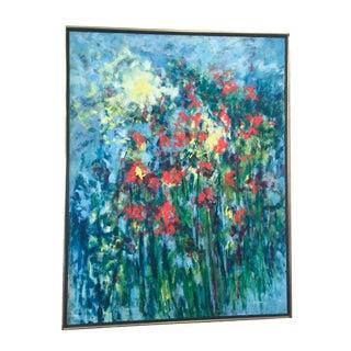 Impressionist Garden Scene by Kenneth Forman