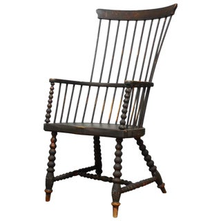 18th Century American High Back Windsor Chair