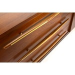Image of Mexican Modernist Walnut Credenza