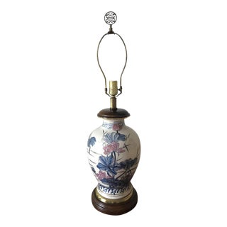 Frederick Cooper Chinoiserie Blue Floral Lamp