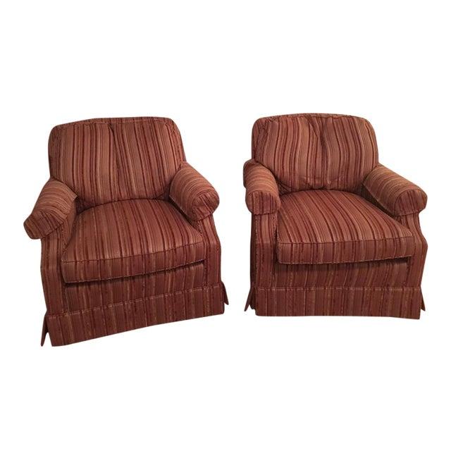 Jessica charles rocking swivel living room chairs a pair for Pair of chairs for living room