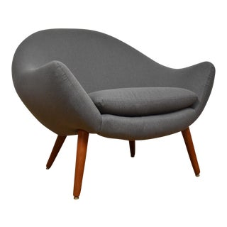 Grey Teak Lounge Chair