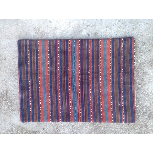 Decorative Anatolian Kilim Pillow - Image 2 of 8