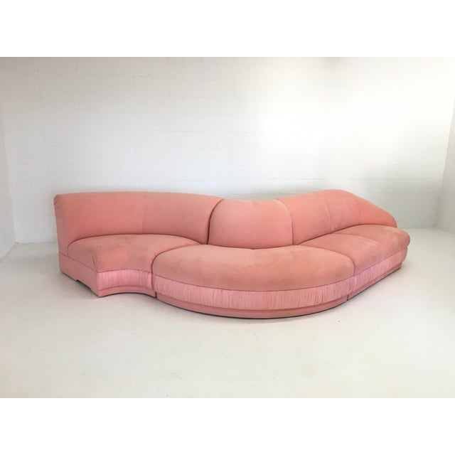 Vladimir Kagan Three-Piece Sectional Sofa for Weiman - Image 3 of 8