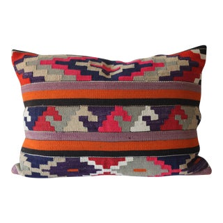 Vintage Boho Turkish Kilim Pillow