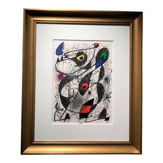 Miro a l'Eucre II by Joan Miro