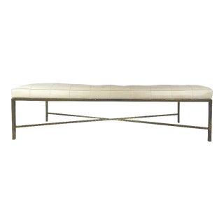 Stylish Contemporary Modern Decorator's Bench