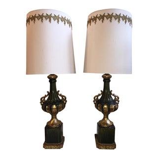 Rococo Period Nardini Studios Ceramic Lamps