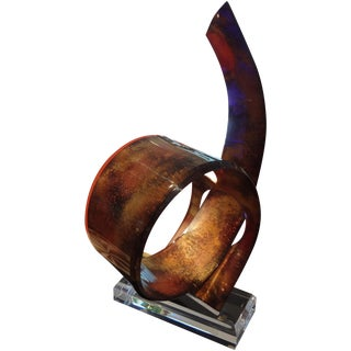 Shlomi Haziza Abstract Lucite Sculpture