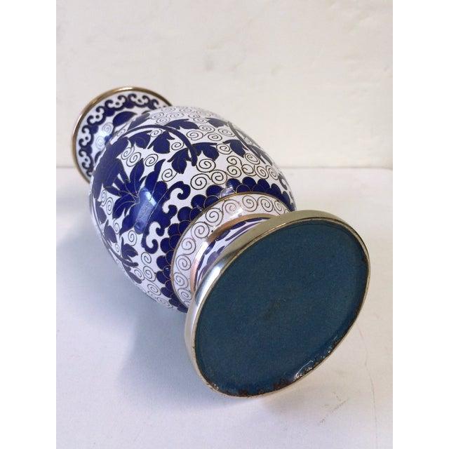 Hellenic Decor Inspired Cloisonné Vase - Image 4 of 4