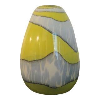 Italian Modern Blown Glass Vase