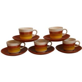 10-Piece Portugese Espresso Cups & Saucers Set