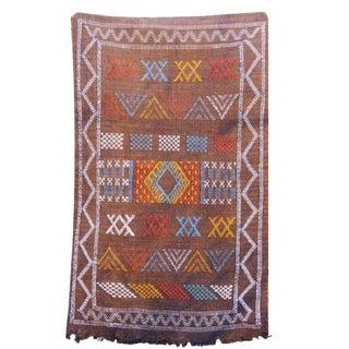 Sabra Cactus Silk Floor Mat - 1′9″ × 2′10″