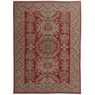 "Hand-Knotted Eagle Kazak by Aara Rugs - 11'9"" x 8'10"""