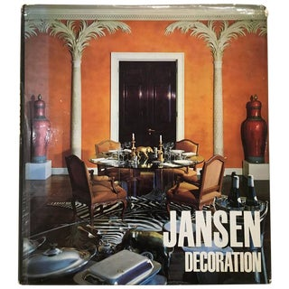 Jansen Decoration, Hardcover, First Edition, 1971