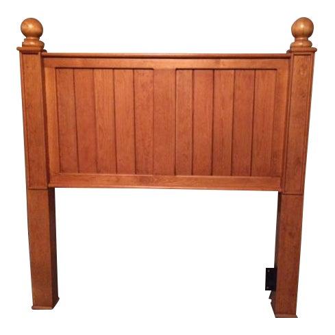 Pottery Barn Solid Wood Twin Headboard - Image 1 of 1