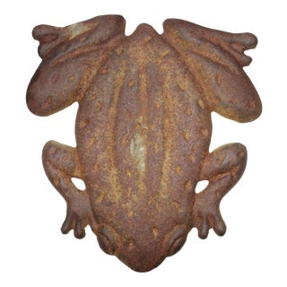 Early 20th Century Frog Lawn Ornament