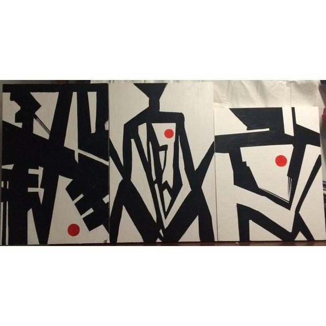 """Heartbreaker"" Acrylic on Canvas 30"" X 24"" - Image 3 of 3"