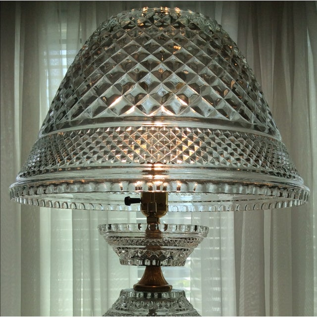 Image of Wexford Stacked Crystal Lamp