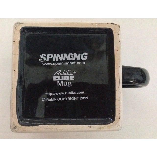 Spinning Retro Rubik's Cube Ceramic Mug - Image 7 of 7