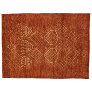 "Contemporary Tribal Moroccan Style Rug - 9'2"" x 12'4"""