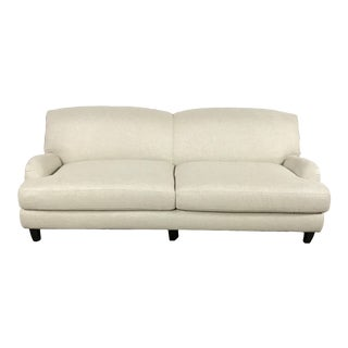 Modern Grey Linen Sofa